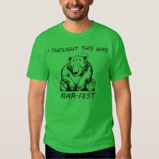 Pensé que éste era Oso-Fest Camisas
