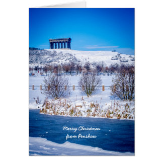 Penshaw Monument Greeting Card