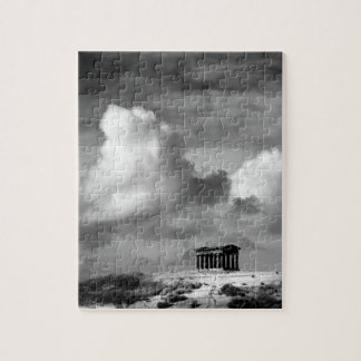 Penshaw Monument Puzzle/Jigsaw with Tin Jigsaw Puzzle