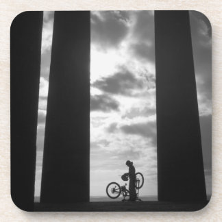 Penshaw Monument with Biker Set of 6 Coasters