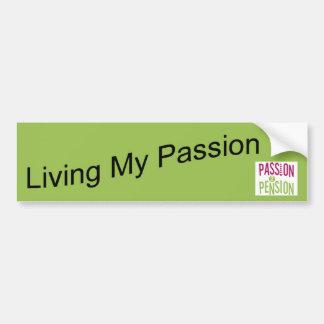 Pensión de la pasión 2 pegatina para auto