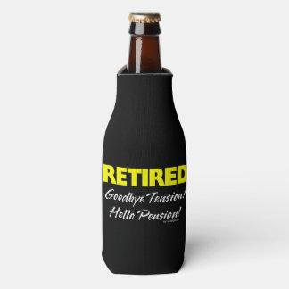 Pensión jubilada de Hellow (oscura) Enfriador De Botellas