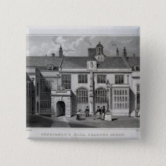 Pensioner's Hall, Charter House Pinback Button