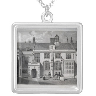 Pensioner's Hall, Charter House Silver Plated Necklace