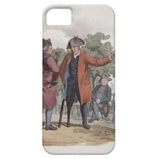 Pensionistas de Chelsea caballería e infantería iPhone 5 Case-Mate Protector