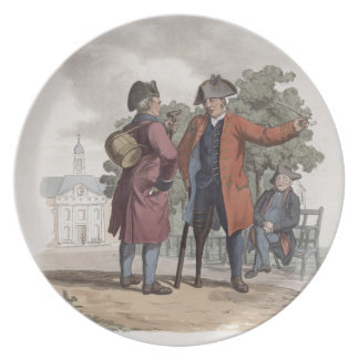 Pensionistas de Chelsea, caballería e infantería,  Platos De Comidas