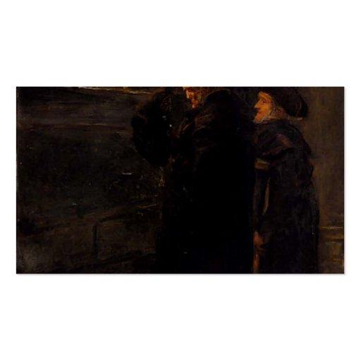 Pensionistas de Greenwich de Juan Millais Tarjetas De Visita