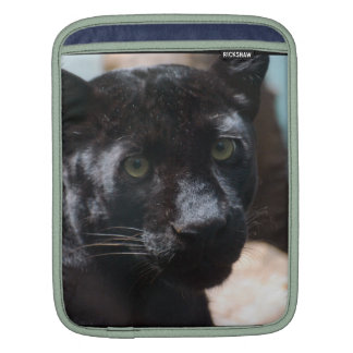 Pensive Black Panther iPad Sleeves