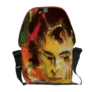 Pensive Courier Bag