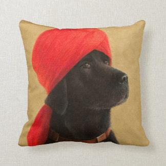 Pensive Maharaja 2010 Throw Pillow