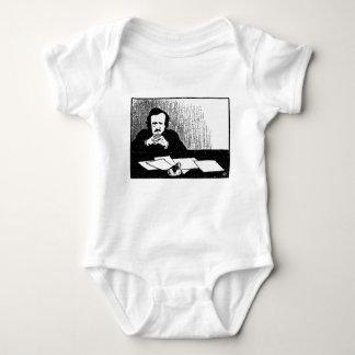 Pensive Poe Baby Bodysuit