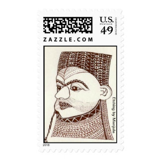 Pensive Postage Stamps