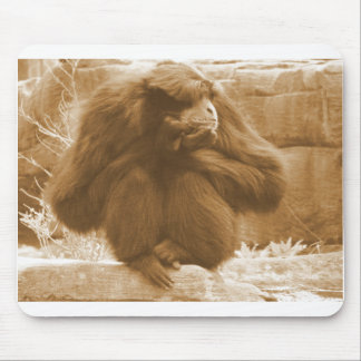 Pensive Primate Mouse Pad