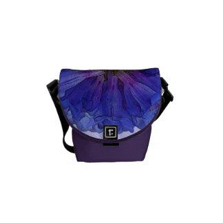 Penstemon azul floral bolsas de mensajeria