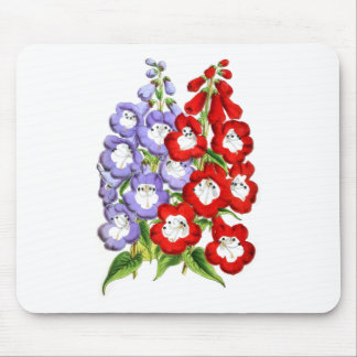 Penstemons - W.E. Gumbleton and Stanstead Rival Mouse Pad