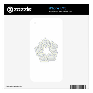 Penta Decal For iPhone 4
