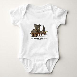 Pentaceratops Baby Bodysuit