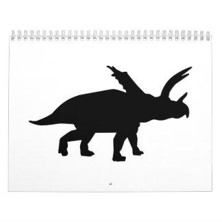 Pentaceratops dinosaur calendar