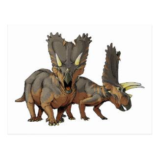 Pentaceratops Postcard