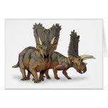Pentaceratops - último dinosaurio cretáceo felicitaciones