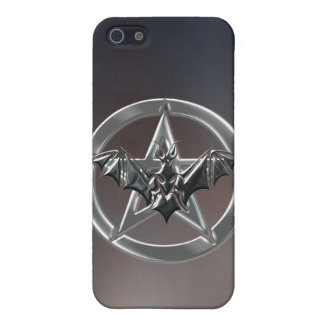 Pentacle Bat Cover For iPhone 5