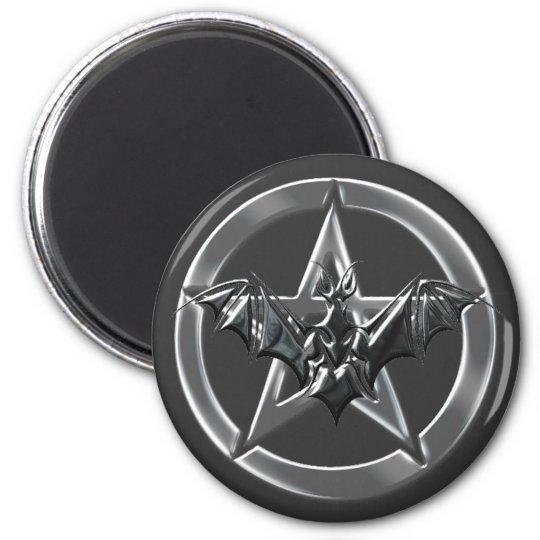 Pentacle Bat Magnet