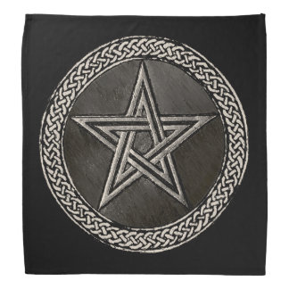 Pentacle Celtic Circle Bandana