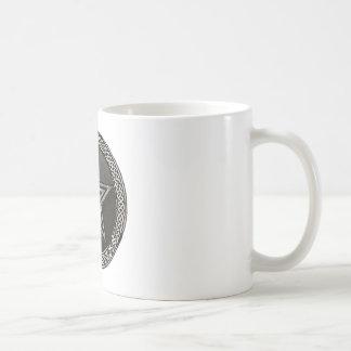 Pentacle Celtic Circle Coffee Mug