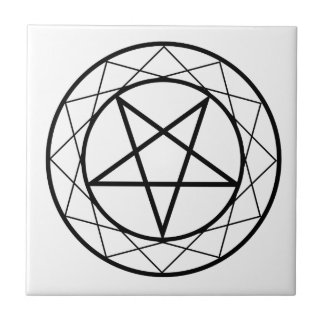 Pentacle Ceramic Tile