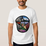 Pentacle collage t shirts
