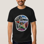 Pentacle collage wht shirts