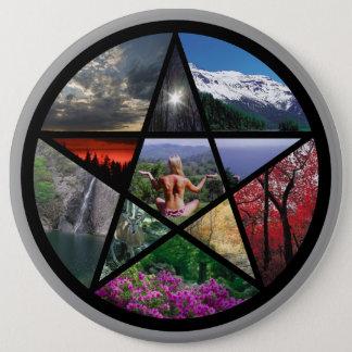 Pentacle Collagebutton Button