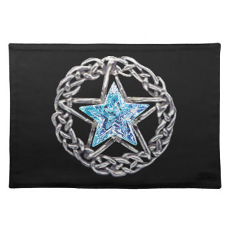 Pentacle Crystal Star Placemat
