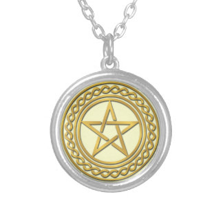 Pentacle Design Personalized Necklace