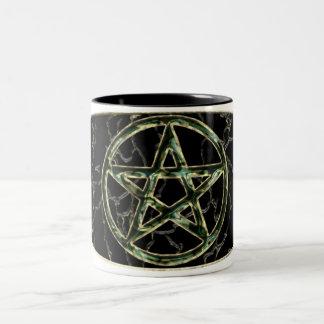 Pentacle Drinkware Two-Tone Coffee Mug