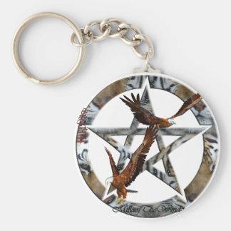 pentacle eagles key chains