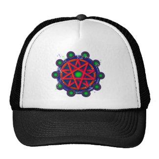 Pentacle_glow Mesh Hat