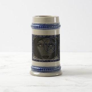 Pentacle Goddess Beer Stein