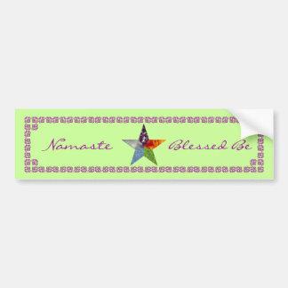 Pentacle - Green Bumper Sticker
