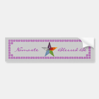 Pentacle - Grey Bumper Sticker