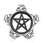 Pentacle Inside Pentagram Sticker