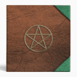 Pentacle Leather BOS 1.5 inch 3 Ring Binders