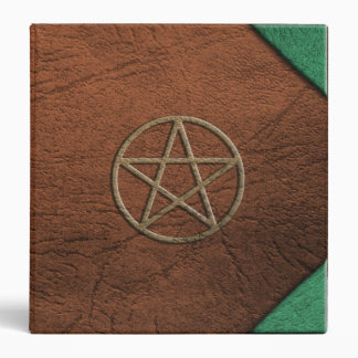 Pentacle Leather BOS 1.5 inch Binder