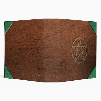 Pentacle Leather BOS 2 inch Binder