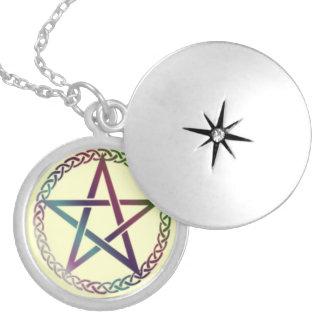 Pentacle locket