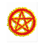 Pentacle of Fire Postcards