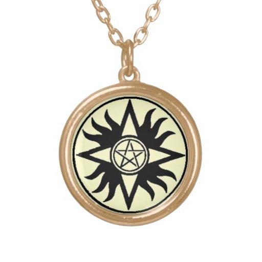 Pentacle of Shamash Amulet Necklace