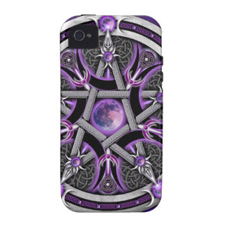 Pentacle Of The Purple Moon iPhone 4/4S Cover