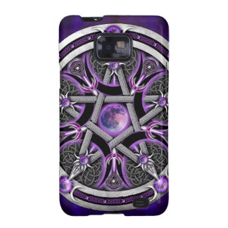 Pentacle Of The Purple Moon Galaxy SII Cases
