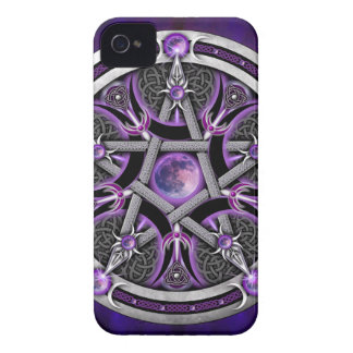 Pentacle Of The Purple Moon iPhone 4 Case-Mate Cases